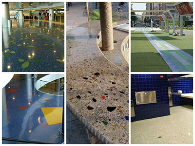 Terrazzo Glass Photo Gallery